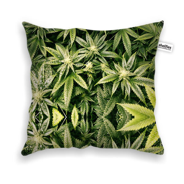 Pillow Cases - Kush Leaves Throw Pillow Case
