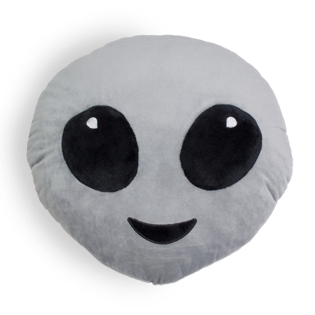 Alien Emoji Pillow - Shelfies | All-Over-Print Everywhere - Designed to Make You Smile