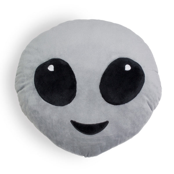 Alien Emoji Pillow-Shelfies-One Size-| All-Over-Print Everywhere - Designed to Make You Smile