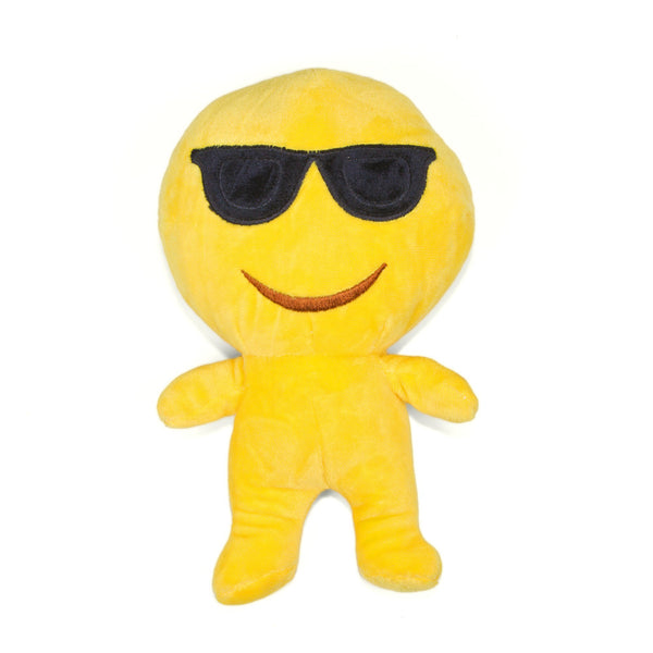 Cool Guy Sunglasses Emoji People Doll-Shelfies-One Size-| All-Over-Print Everywhere - Designed to Make You Smile