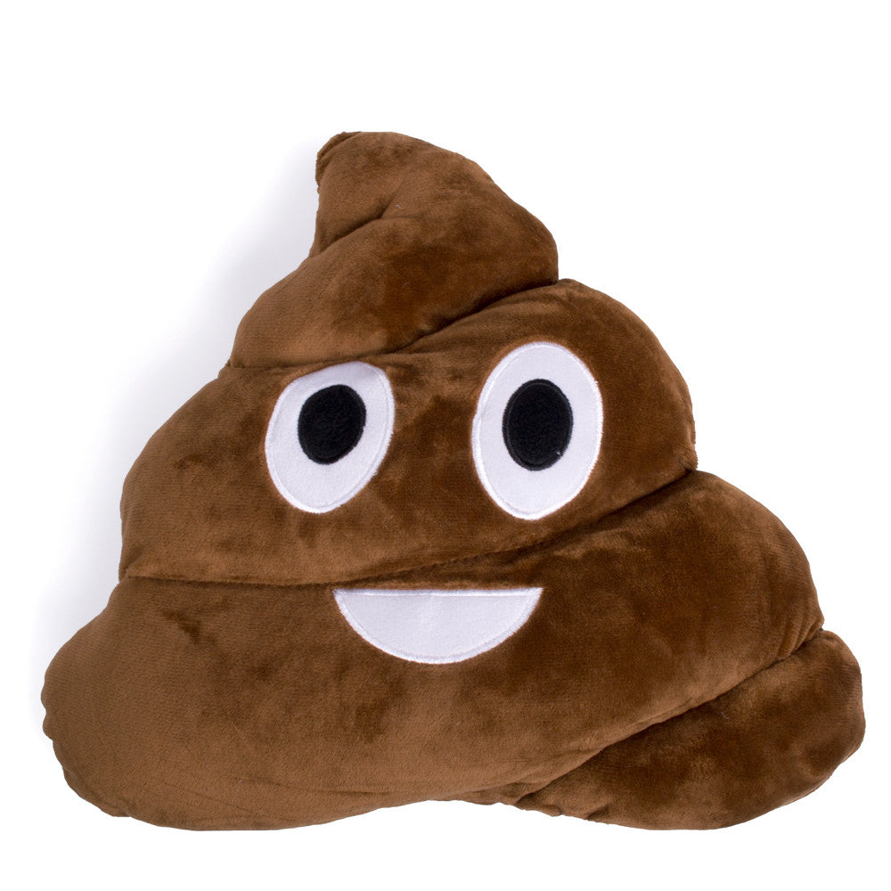 Poo Emoji Pillow - Shelfies | All-Over-Print Everywhere - Designed to Make You Smile