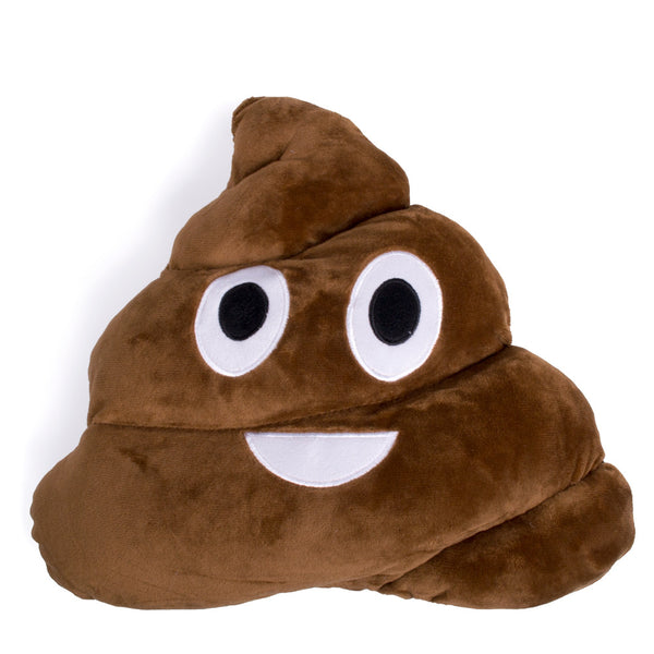 Poo Emoji Pillow-Shelfies-One Size-| All-Over-Print Everywhere - Designed to Make You Smile