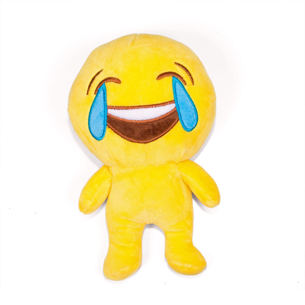 Tears of Joy Emoji People Doll-Shelfies-One Size-| All-Over-Print Everywhere - Designed to Make You Smile