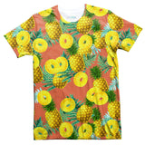 Pineapple Livin' T-Shirt-Shelfies-| All-Over-Print Everywhere - Designed to Make You Smile