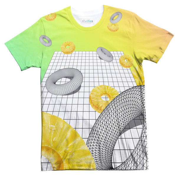 Pineapple Void T-Shirt-kite.ly-S-| All-Over-Print Everywhere - Designed to Make You Smile