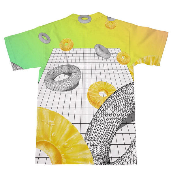 Pineapple Void T-Shirt-kite.ly-| All-Over-Print Everywhere - Designed to Make You Smile