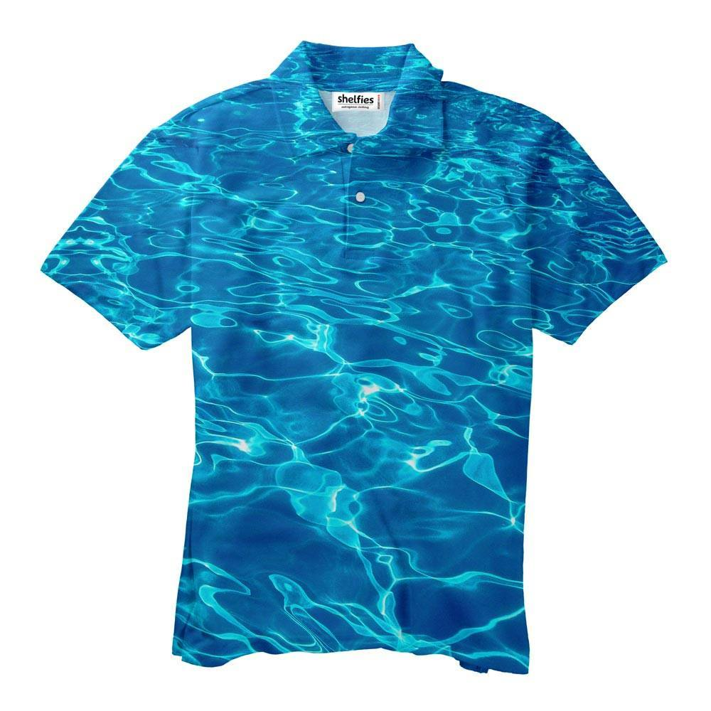 Polo Shirt - Water Men's Polo Shirt