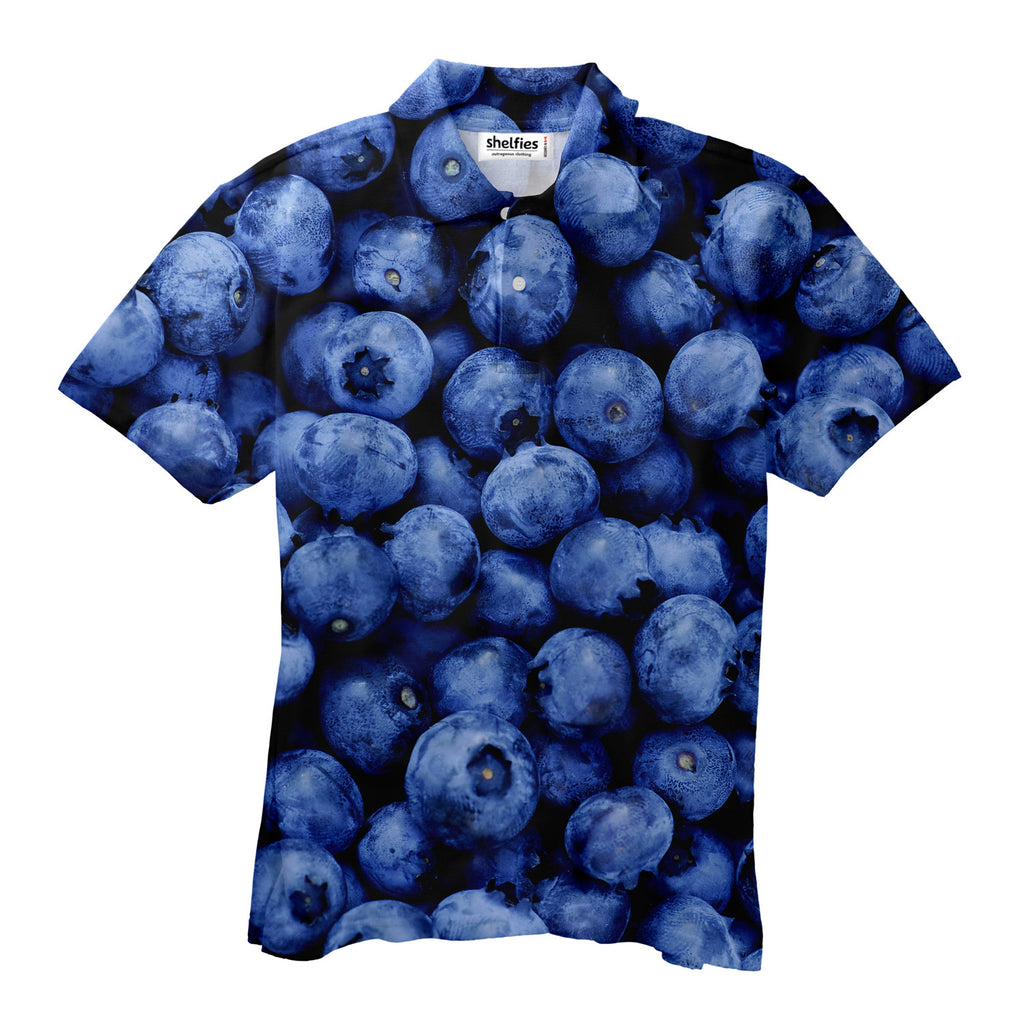 Polo Shirts - Blueberry Men's Polo Shirt