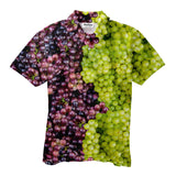 Polo Shirts - Mixed Grapes Men's Polo Shirt
