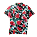 Polo Shirts - Tropical Melons Men's Polo Shirt