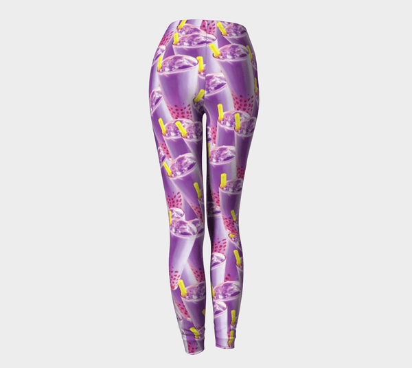 Bubble Tea Leggings-Shelfies-| All-Over-Print Everywhere - Designed to Make You Smile