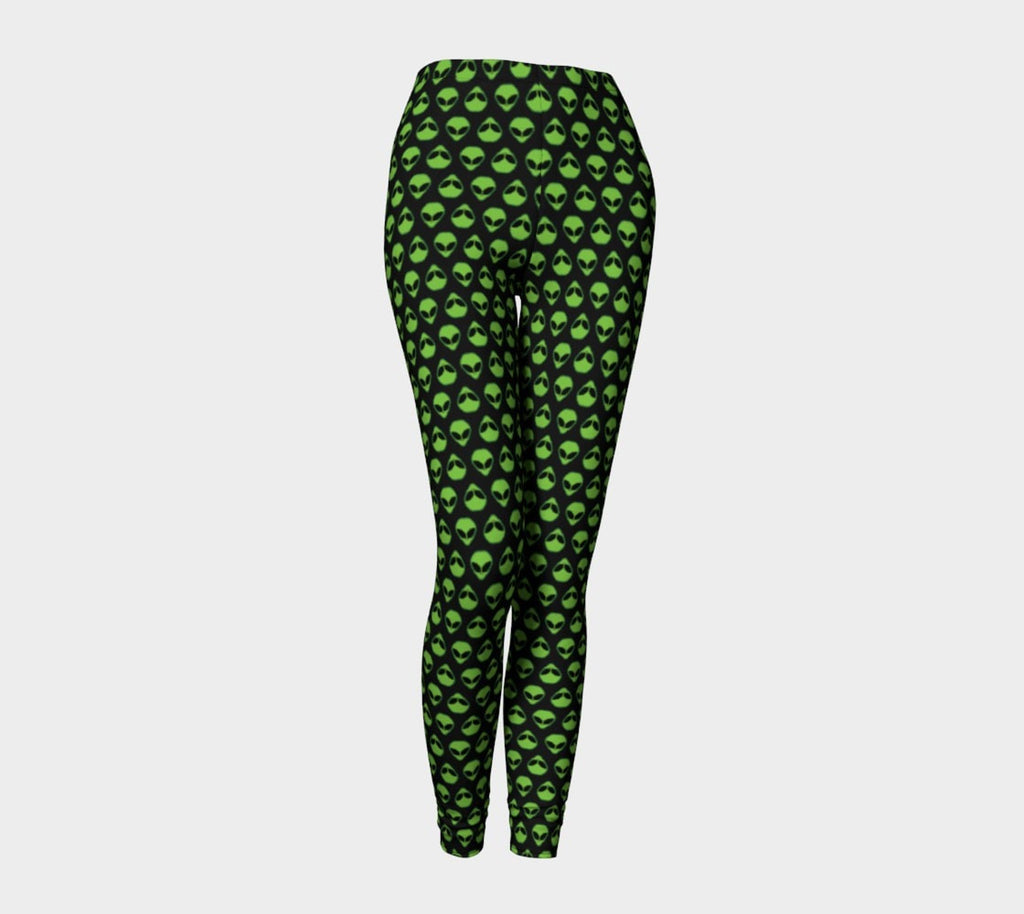 Alienz Leggings-Shelfies-X-Small-| All-Over-Print Everywhere - Designed to Make You Smile