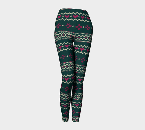 Feel The Joy Leggings-Shelfies-| All-Over-Print Everywhere - Designed to Make You Smile
