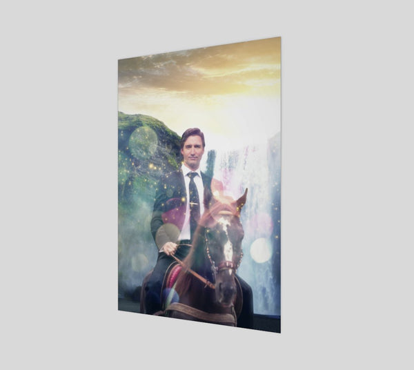 Dreamy Trudeau Poster-Shelfies-| All-Over-Print Everywhere - Designed to Make You Smile