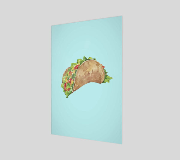 Taco Dirty To Me Poster-Shelfies-| All-Over-Print Everywhere - Designed to Make You Smile