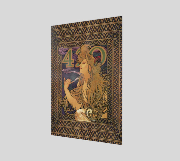 420 Mucha Poster-Shelfies-| All-Over-Print Everywhere - Designed to Make You Smile