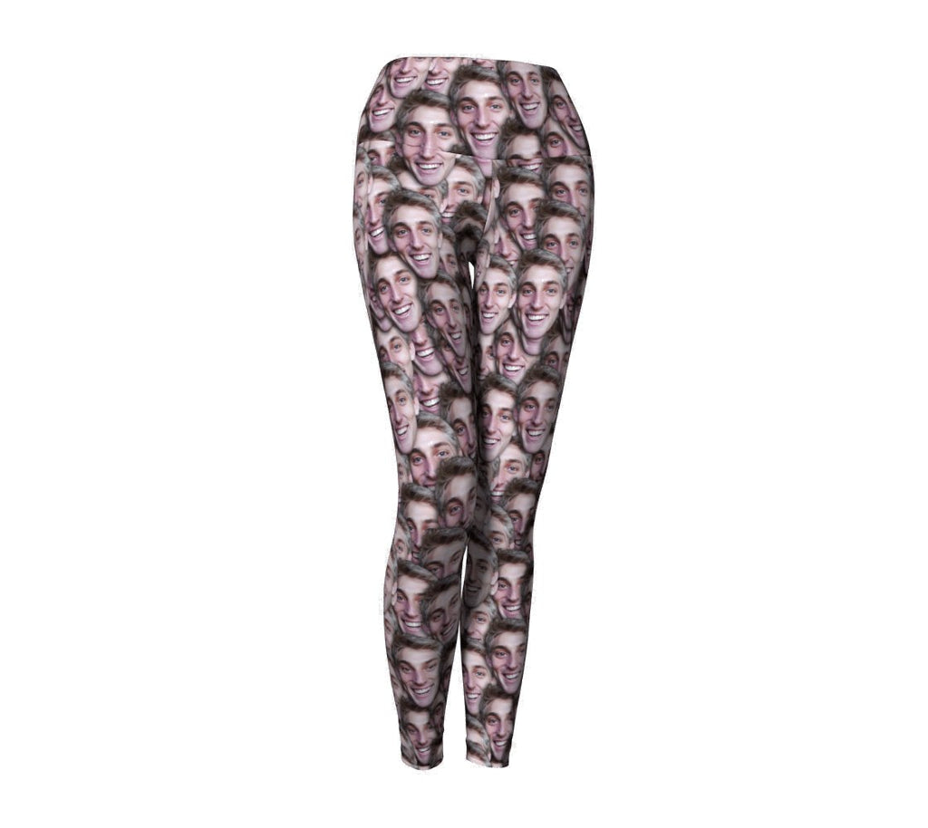 9e165f8df3 Your Face Custom Yoga Pants-Shelfies-| All-Over-Print Everywhere -