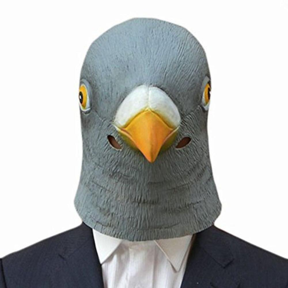 Pigeon Head Animal Mask-Shelfies-| All-Over-Print Everywhere - Designed to Make You Smile