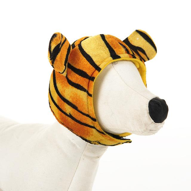 dc718c0f0e56fe Baby Tiger Winter Dog Hat-Shelfies-Tiger-S-| All-Over