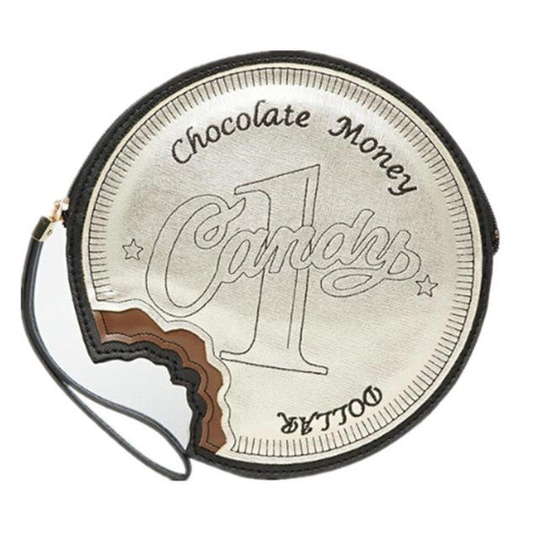 Chocolate Money Fashion Bag-Shelfies-| All-Over-Print Everywhere - Designed to Make You Smile