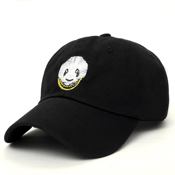 Gangsta Panda Embroidered Dad Hat-Shelfies-| All-Over-Print Everywhere - Designed to Make You Smile