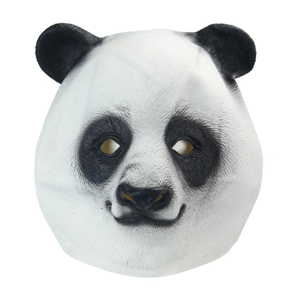 Panda Head Animal Mask-Shelfies-| All-Over-Print Everywhere - Designed to Make You Smile