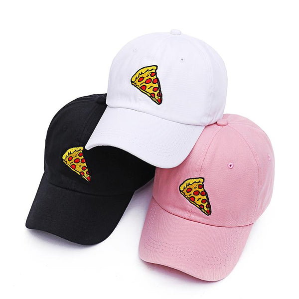 Large Pepperoni Pizza Slice Embroidered Dad Hat-Shelfies-| All-Over-Print Everywhere - Designed to Make You Smile