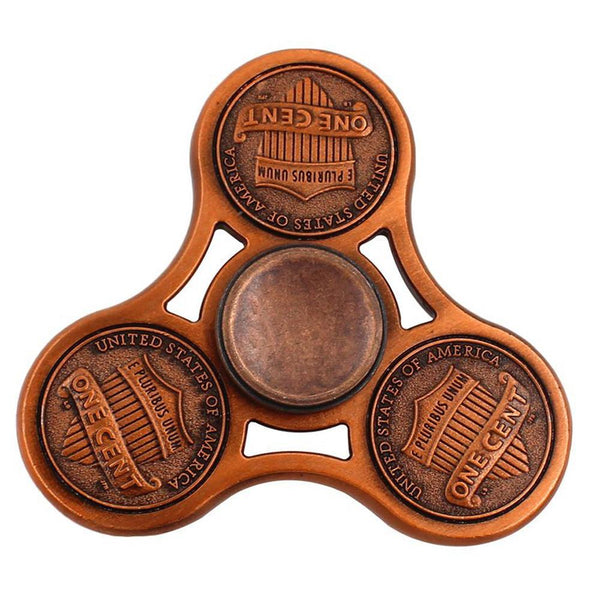 American Pennies Tri Fid Spinner Shelfies