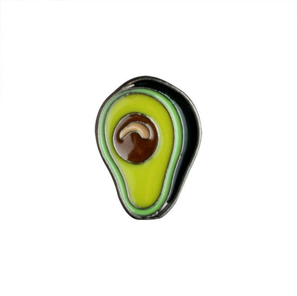 Avocado On Everything Brooch Pin-Shelfies-| All-Over-Print Everywhere - Designed to Make You Smile