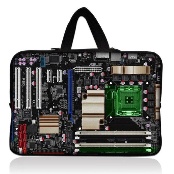 Exposed Circuits Laptop Sleeve-Shelfies-| All-Over-Print Everywhere - Designed to Make You Smile
