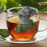 Hanging Sloth Tea Infuser-Shelfies-| All-Over-Print Everywhere - Designed to Make You Smile