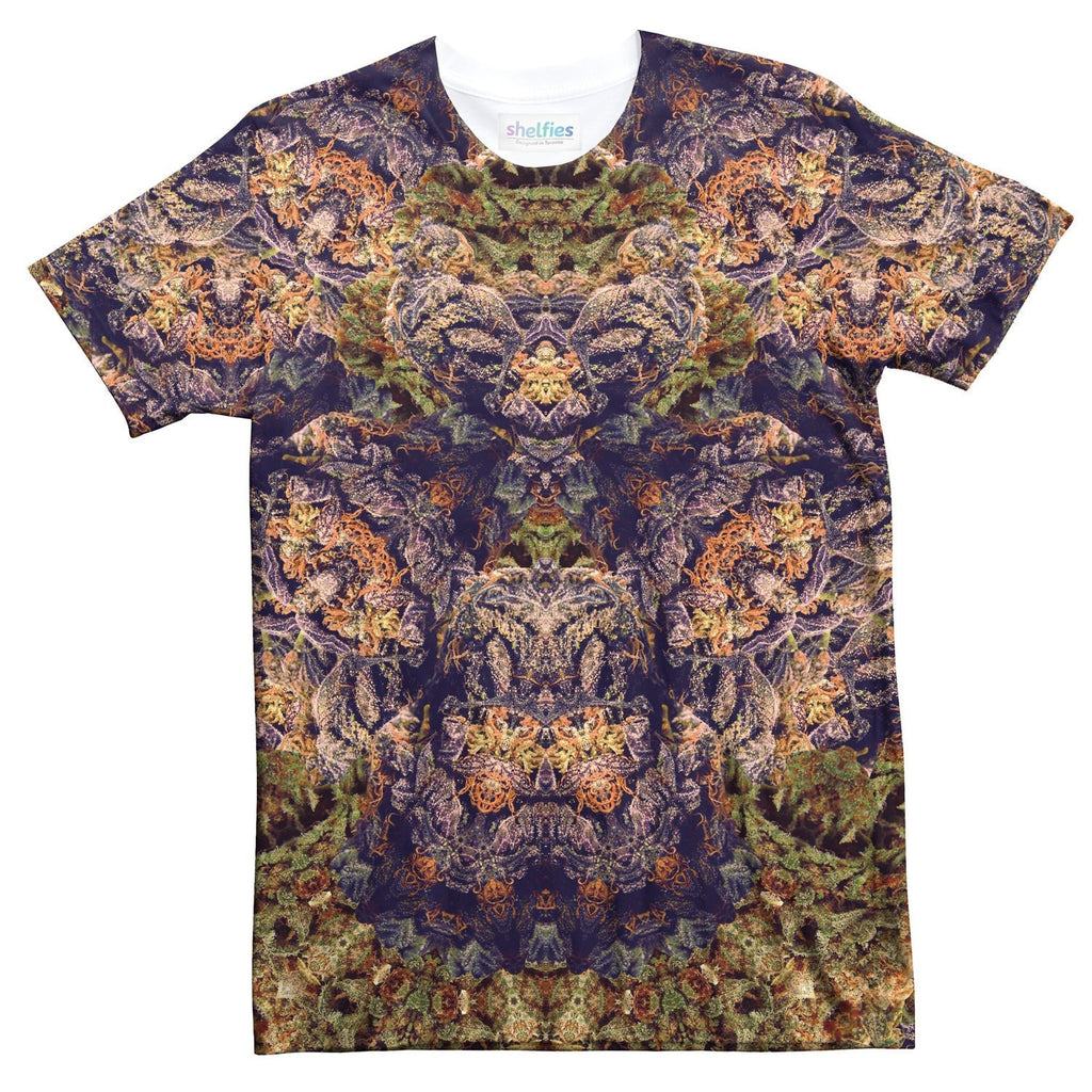 Purple Kush [REMIX] T-Shirt-Shelfies-| All-Over-Print Everywhere - Designed to Make You Smile