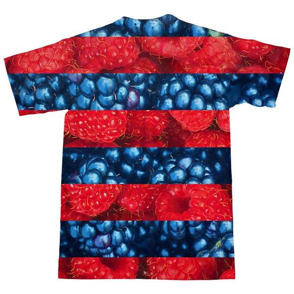 [Re]Mixed Berries T-Shirt-kite.ly-| All-Over-Print Everywhere - Designed to Make You Smile