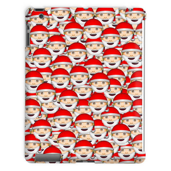 Emoji Santa Invasion iPad Case-kite.ly-iPad 2,3,4 Case-| All-Over-Print Everywhere - Designed to Make You Smile