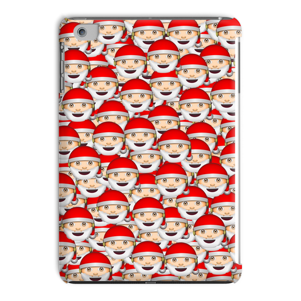 Emoji Santa Invasion iPad Case-kite.ly-iPad Mini 4-| All-Over-Print Everywhere - Designed to Make You Smile
