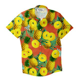 Pineapple Livin' Short-Sleeve Button Down Shirt-Shelfies-| All-Over-Print Everywhere - Designed to Make You Smile