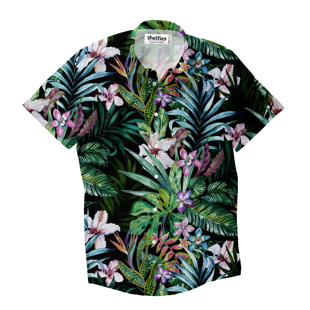Short-Sleeve Button Shirts - Tropic Short-Sleeve Button Down Shirt