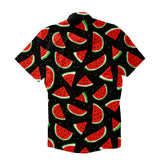 Watermelon Life Short-Sleeve Button Down Shirt-Shelfies-| All-Over-Print Everywhere - Designed to Make You Smile
