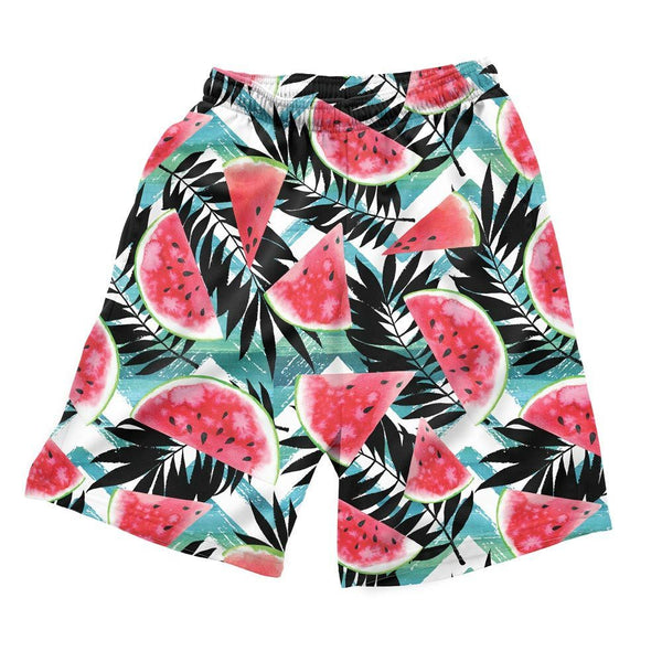 Tropical Melons Men's Shorts-Shelfies-| All-Over-Print Everywhere - Designed to Make You Smile