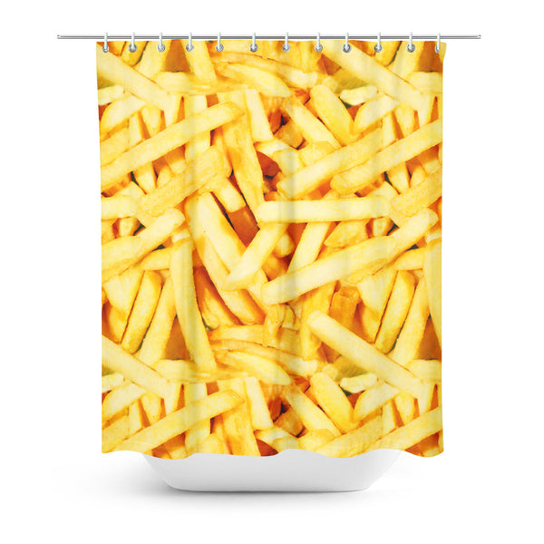 Shower Curtains - French Fries Shower Curtain