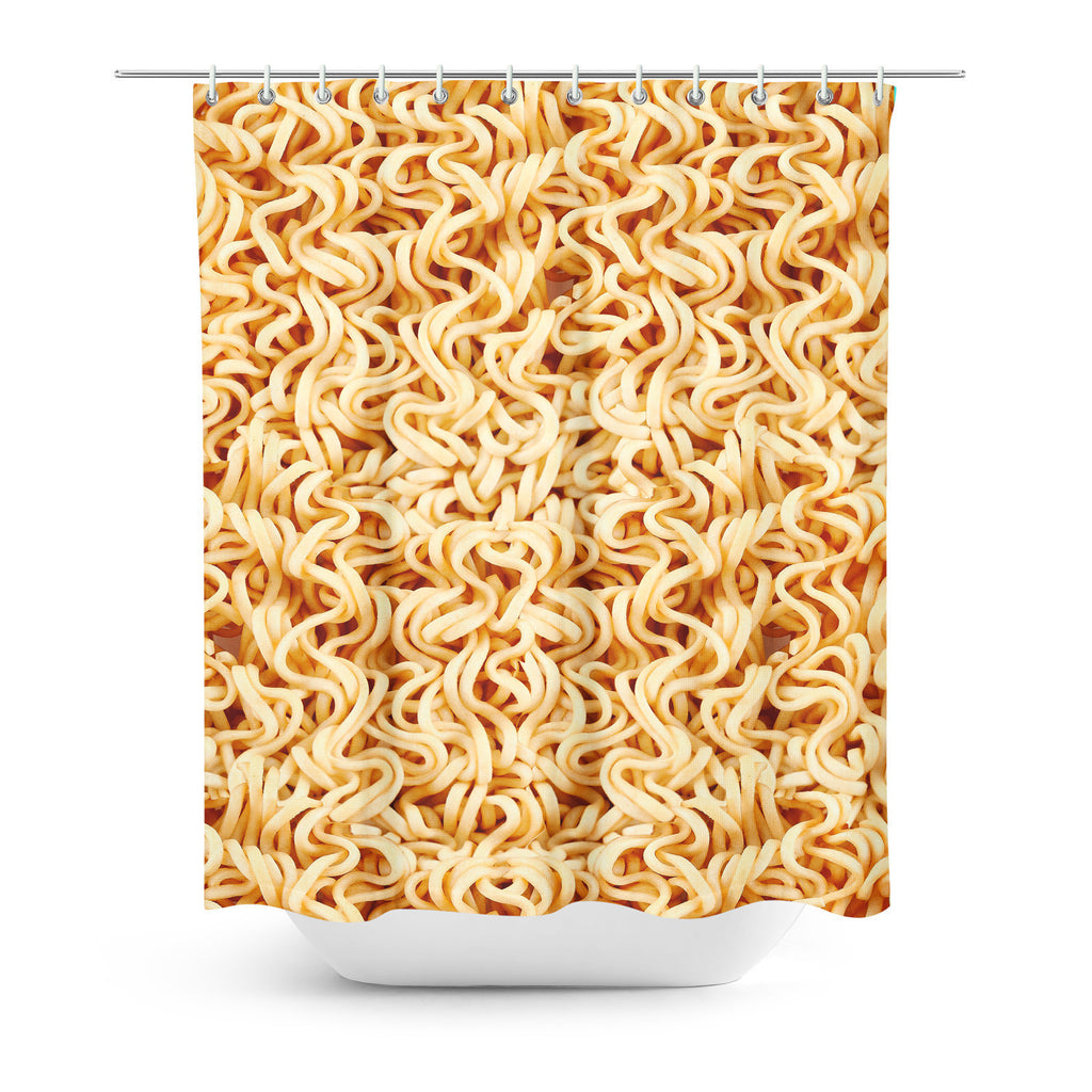 Ramen Invasion Shower Curtain-Gooten-| All-Over-Print Everywhere - Designed to Make You Smile