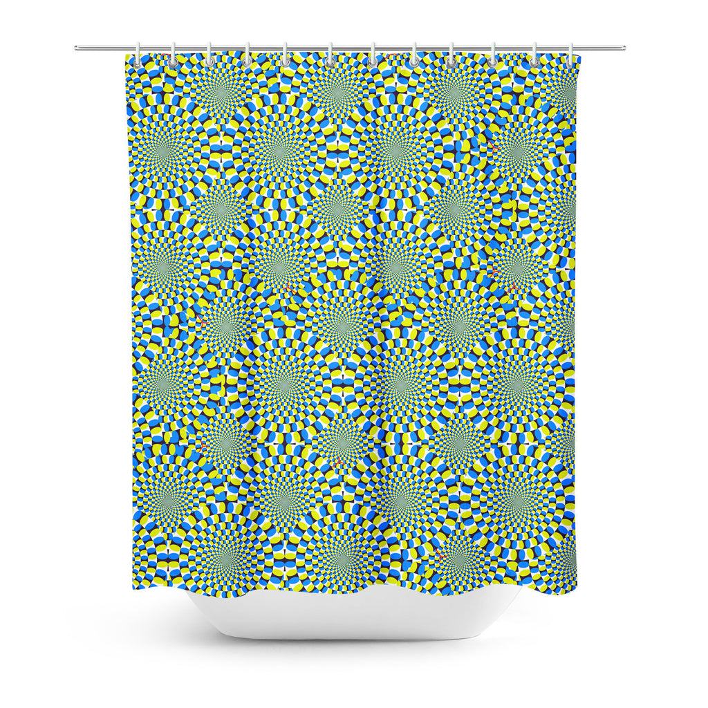 Shower Curtains - Trippy Snakes Shower Curtain