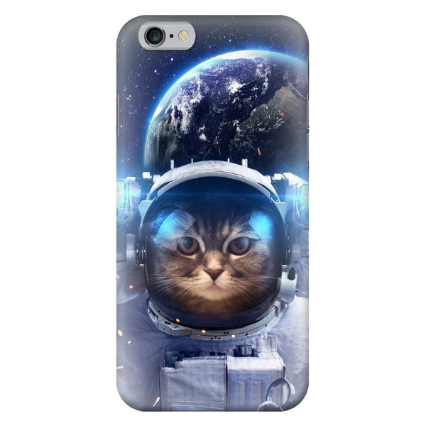 Astronaut Cat Smartphone Case-Gooten-iPhone 6/6s-| All-Over-Print Everywhere - Designed to Make You Smile