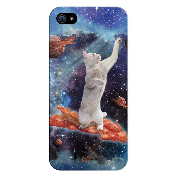 Bacon Cat Smartphone Case-Gooten-iPhone 5/5s/SE-| All-Over-Print Everywhere - Designed to Make You Smile