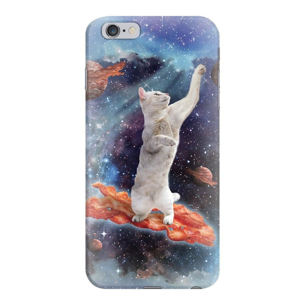Bacon Cat Smartphone Case-Gooten-iPhone 6 Plus/6s Plus-| All-Over-Print Everywhere - Designed to Make You Smile