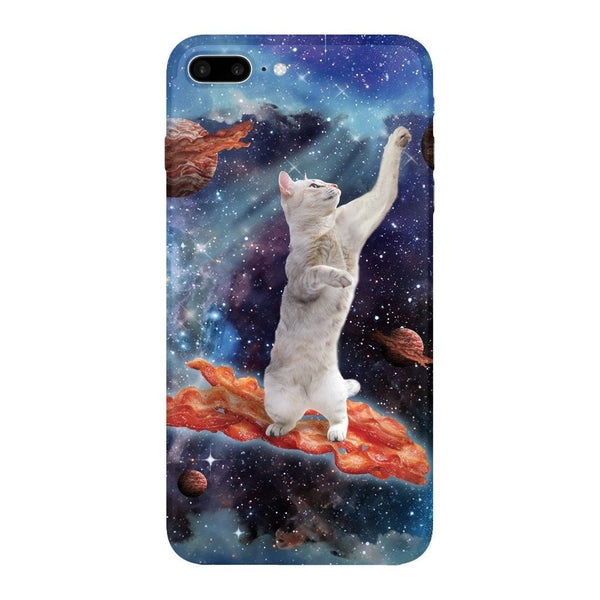 Bacon Cat Smartphone Case-Gooten-iPhone 7 Plus-| All-Over-Print Everywhere - Designed to Make You Smile