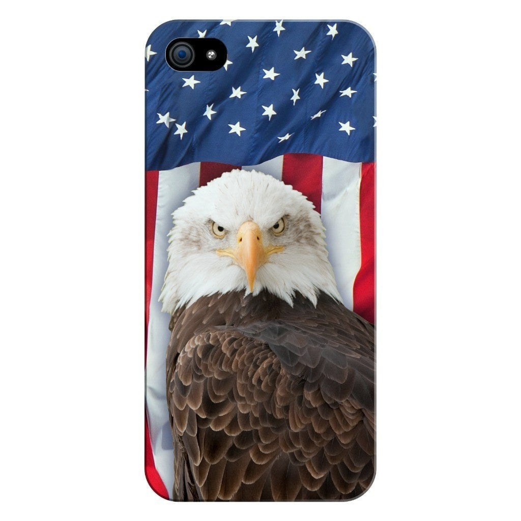 Bald Eagle Smartphone Case-Gooten-iPhone 5/5s/SE-| All-Over-Print Everywhere - Designed to Make You Smile