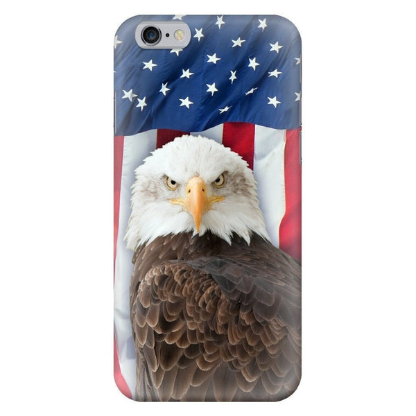 Bald Eagle Smartphone Case-Gooten-iPhone 6/6s-| All-Over-Print Everywhere - Designed to Make You Smile