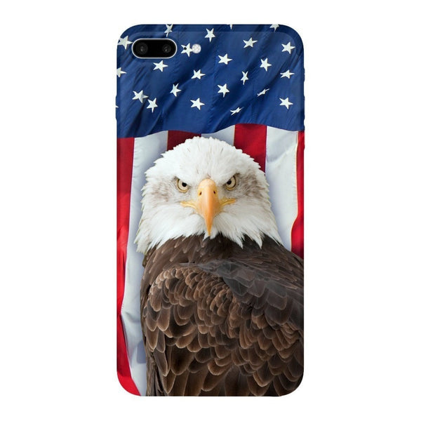 Bald Eagle Smartphone Case-Gooten-iPhone 7 Plus-| All-Over-Print Everywhere - Designed to Make You Smile