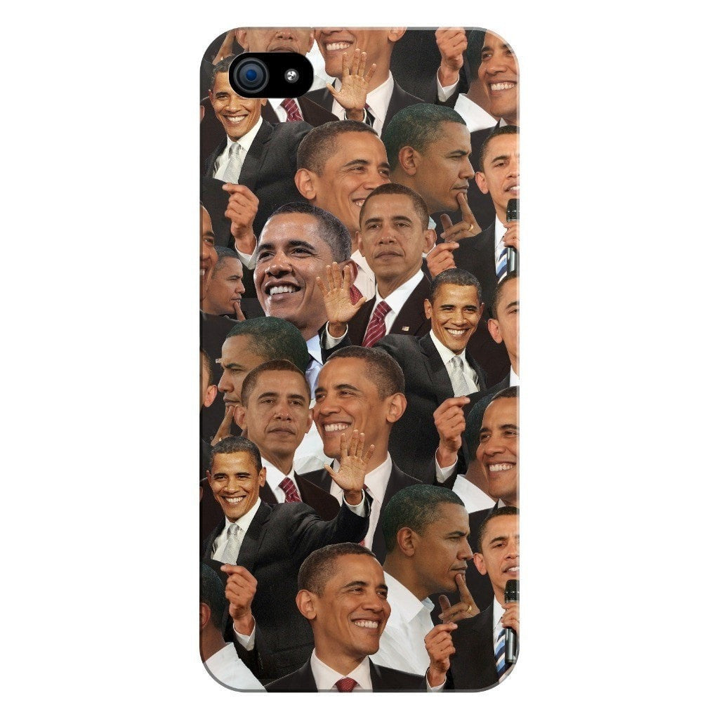 Barack Obama Face Smartphone Case-Gooten-iPhone 5/5s/SE-| All-Over-Print Everywhere - Designed to Make You Smile
